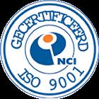 NCI - ISO 9001 gecertificeerd